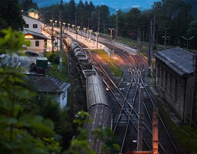 Frachtbahn